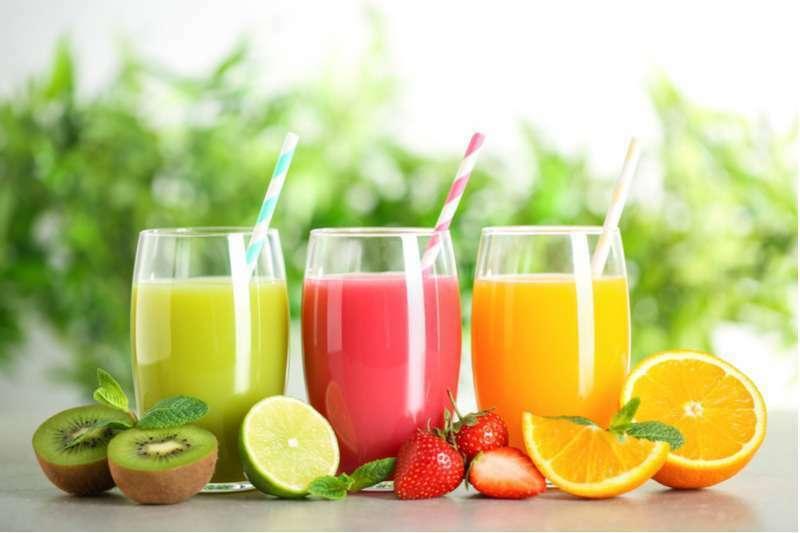 Trifocus fitness academy - fruit juice