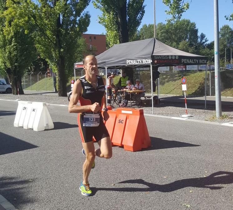 Résultats des triathlons d'Aubonne, Yverdon et Locarno