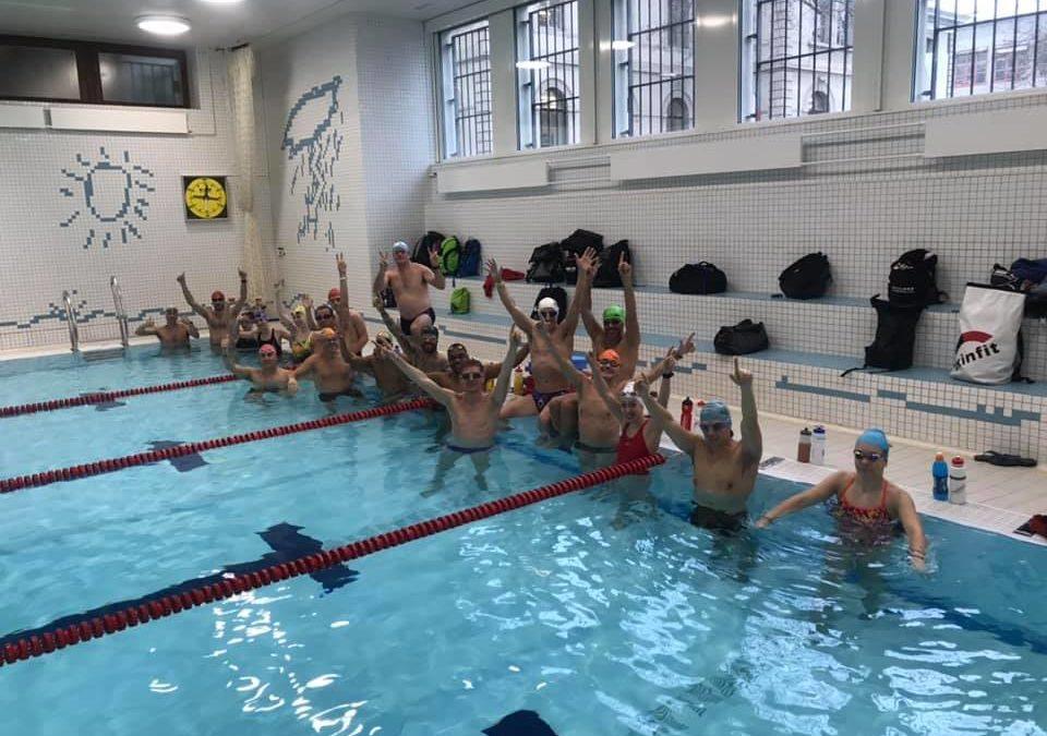 Ils ont nagé 100 x 100 mètres