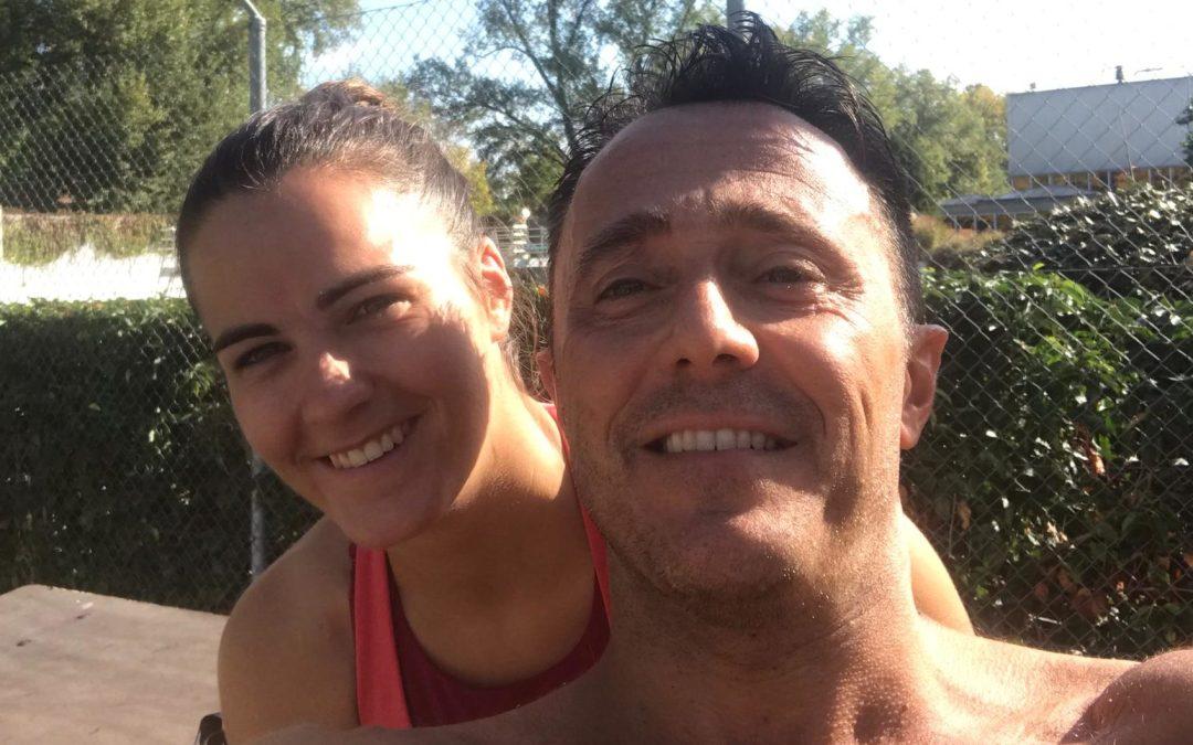 Matteo Sironi et sa copine 5ème en relais à la RER