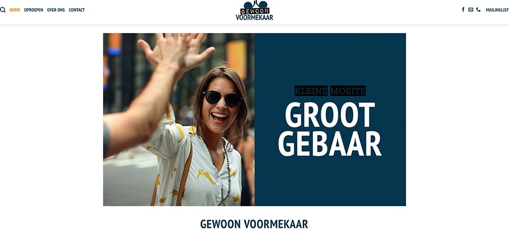 Website Gewoon Voormekaar