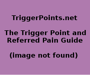 Soleus Trigger Point Diagram