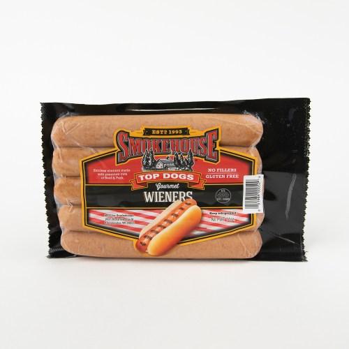 Gourmet Top Dog Wieners 14 oz product image
