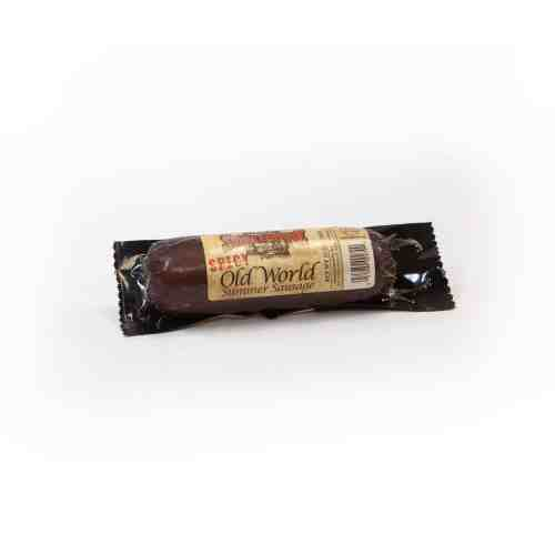Trig's Spicy Old World Summer Sausage 12 oz package
