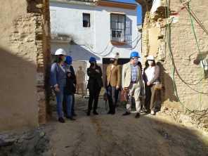 Visita a Trigueros de la delegada del Gobierno en Andalucía11