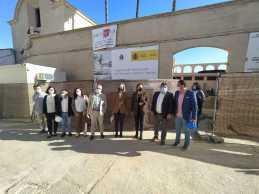 Visita a Trigueros de la delegada del Gobierno en Andalucía5