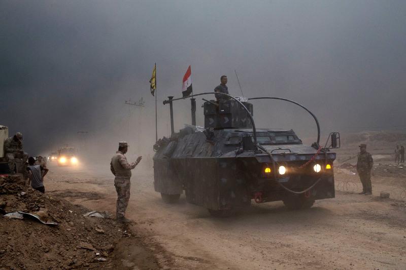Απελευθερώθηκε η είσοδος της Μοσούλης -Σκληρές οδομαχίες τζιχαντιστών με τον ιρακινό στρατό [εικόνες] - Εικόνα