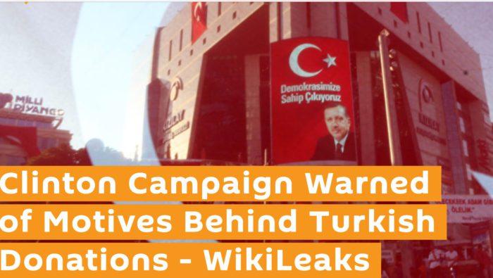 Επιβεβαιώνεται ότι η Χ.Κλίντον θέλει την καταστροφή της Ελλάδας: «Βόμβα» από τα Wikileaks: «Πήρε λεφτά από τον Ερντογάν για την εκστρατεία της!» (φωτό & βίντεο) - Εικόνα0
