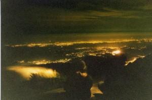 Vista da Pedra do Sino a noite