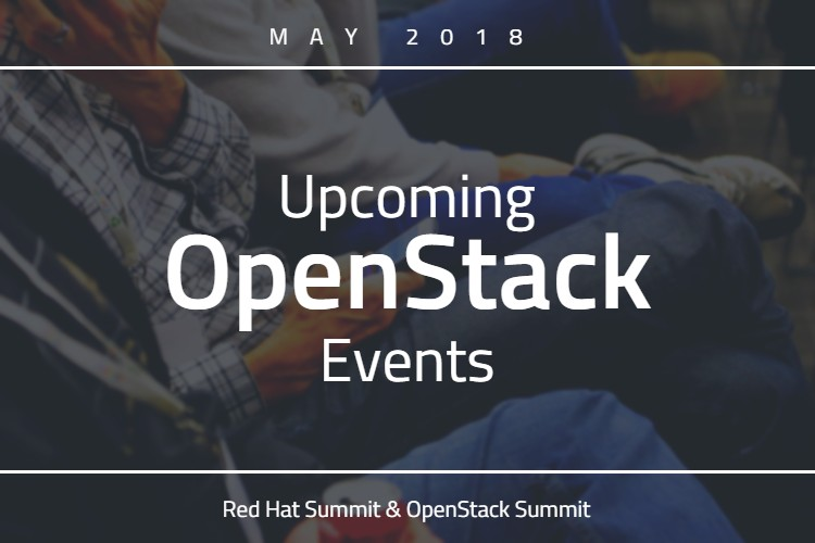Upcoming OpenStack Events