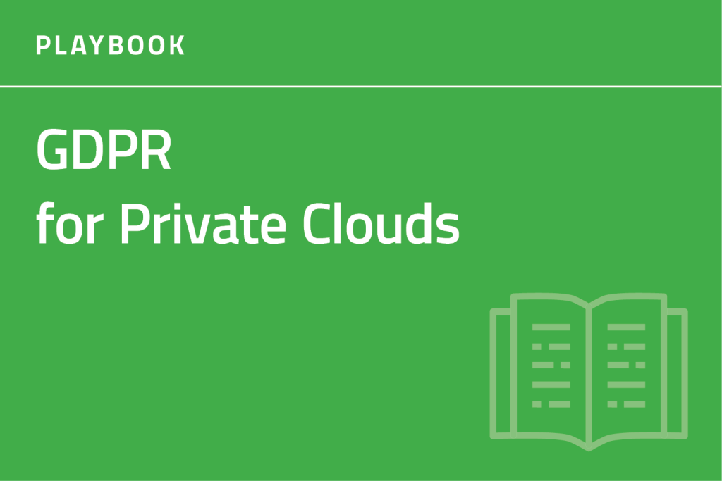 GDPR for Private Cloud Playbook