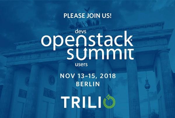 OpenStack Summit Berlin 2018