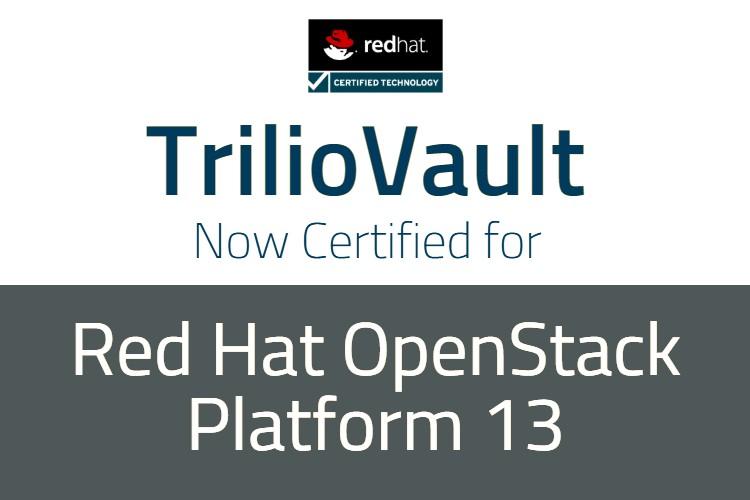 red hat openstack platform 13 certification