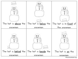 Montessori And Preschool Printables For Winter Trillium