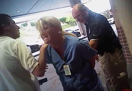 Utah cop who arrested nurse over blood draw fired from second job