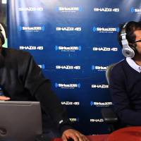 Aziz Ansari shows up on Sway In The Morning