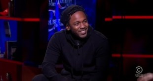 Kendrick Lamar performs 'Untitled' song on The Colbert Report