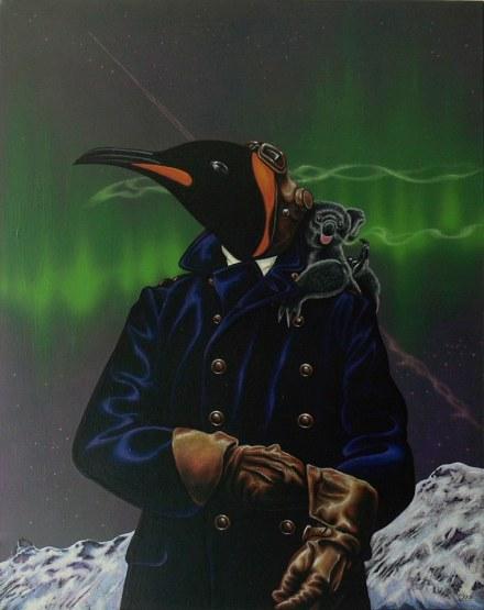 Julian Quaye - The Aviator (Art)