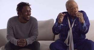 Kendrick Lamar Meets Quincy Jones (Video)