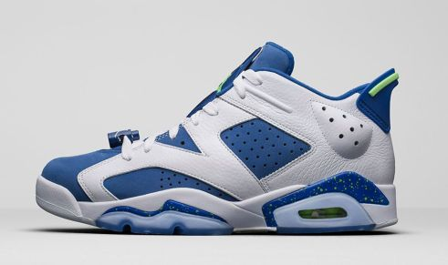 Air Jordan 6 Low Seahawks - Trillmatic.com 1