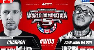 Rap Battle - Charron vs John John Da Don