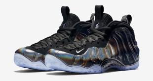 In-Hand Sneaker Review Foamposite One Hologram 4