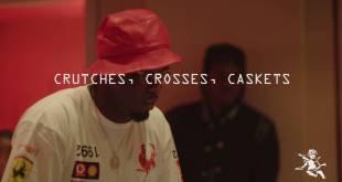 "Pusha T - ""Crutches, Crosses, Caskets"" Studio Session"