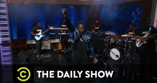 Pusha T performs 'Sunshine' on The Daily Show (Video)