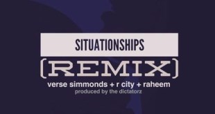 Verse Simmonds ft. R. City & Raheem - Situationships (Audio)