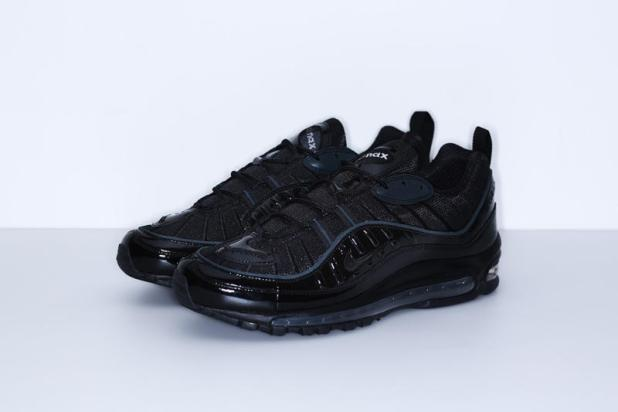 Sneaker Review: Supreme x Air Max 98 Black (Video)