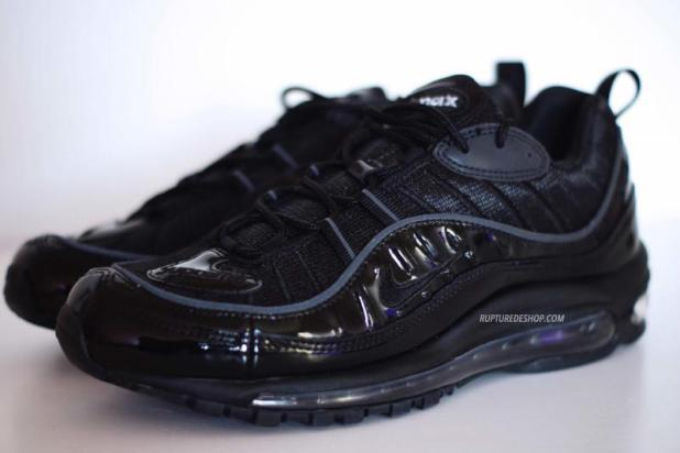 Supreme x Air Max 98 Black 3