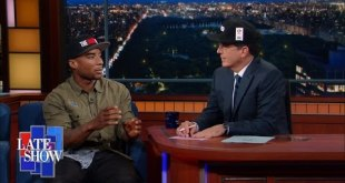 Charlamagne says Stephen Colbert got fancy (Video)