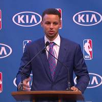 Stephen Curry's MVP Award Full Speech (Video)