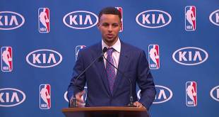 Stephen Curry's MVP Award Full Speech (Video)