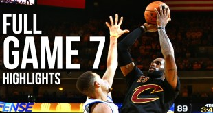 Warriors vs Cavaliers: Game 7 NBA Finals - Full Highlights