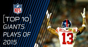 Watch the Top 10 Giants Plays of 2015 (Video)