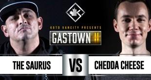 Rap Battle - The Saurus vs Chedda Cheese