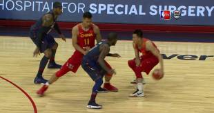 USA vs China Exhibition Game Full Highlights NBA