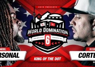 Rap Battle – Arsonal vs Cortez (Video)