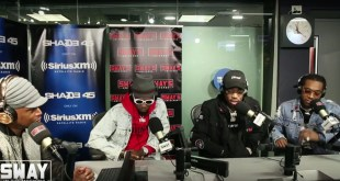 Migos Defend Their Style of Rap + Speak on Solo Work & Freestyle Live on Sway in the Morning (Video)