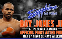 Roy Jones Jr. to Host After-Fight Party in Las Vegas following Canelo Alvarez vs. Julio Cesar Chavez Jr.