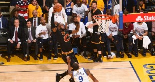 Top 10 Dunks of The 2017 NBA Finals (Video)