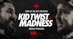 Kid Twist vs Madness - Battle at TIFF (King of the Dot)