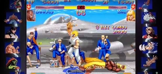 Xbox One is releasing the Street Fighter 30th Anniversary Collection