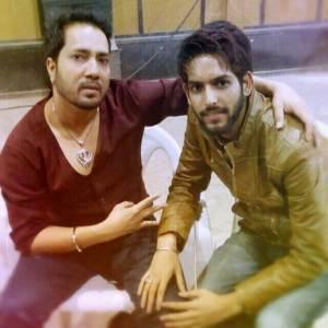 Sahil solanki with mika singh