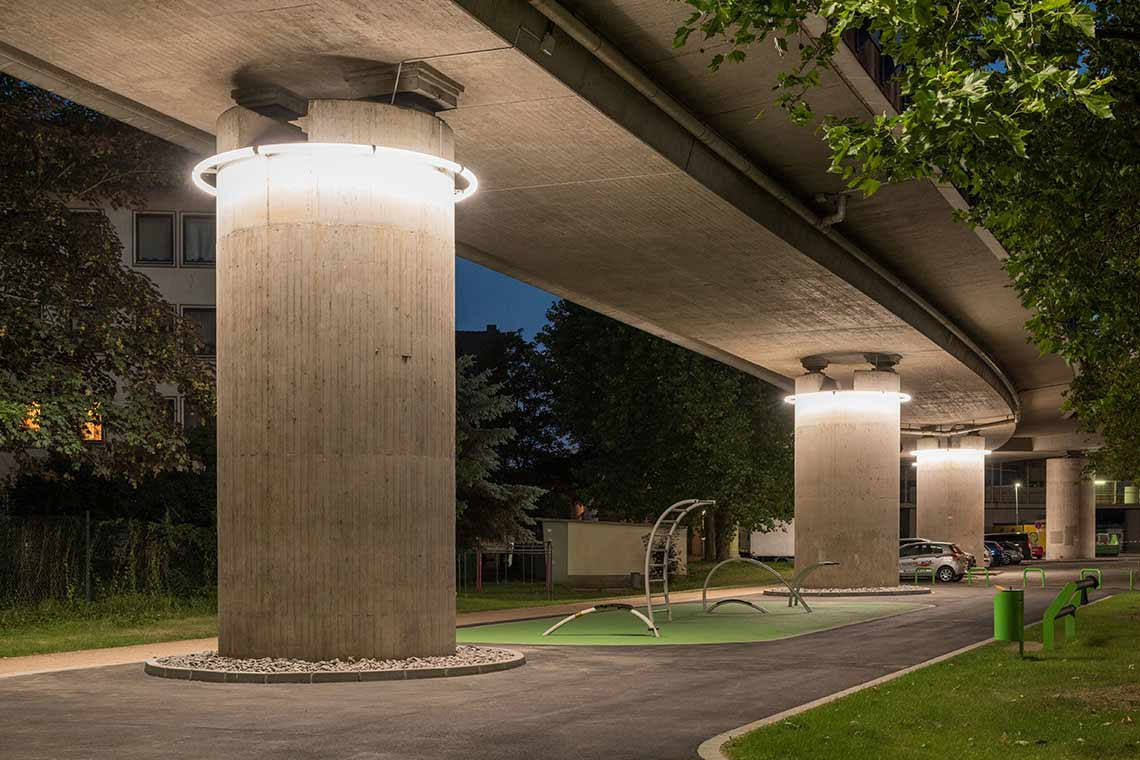 Interior And Exterior Lighting Light In Architecture
