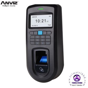 Anviz VF30 Finger Print Time Attandance Bangladesh Trimatrik Anviz W2 Color Screen Fingerprint & RFID
