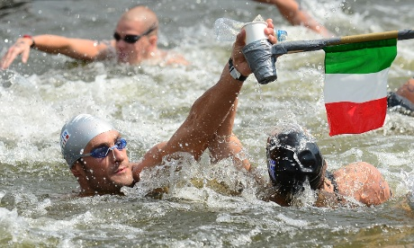 open water swimming nutrition