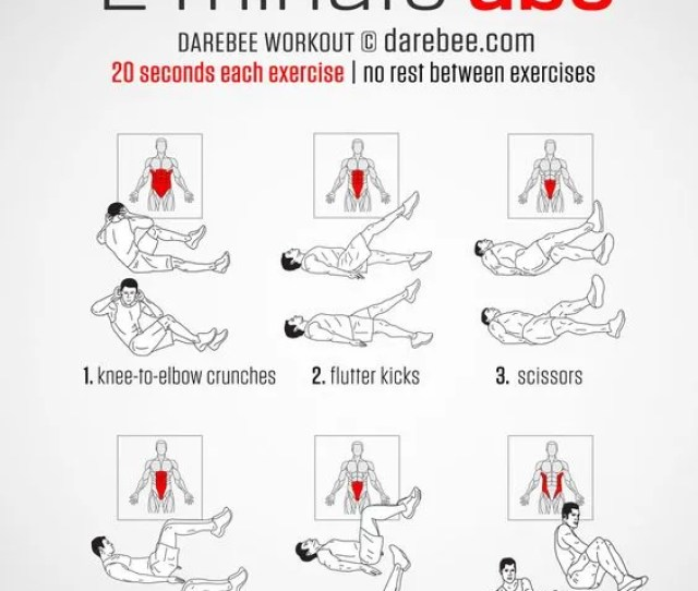 Beginner Ab Workouts That You Can Do At Home With No Equipment
