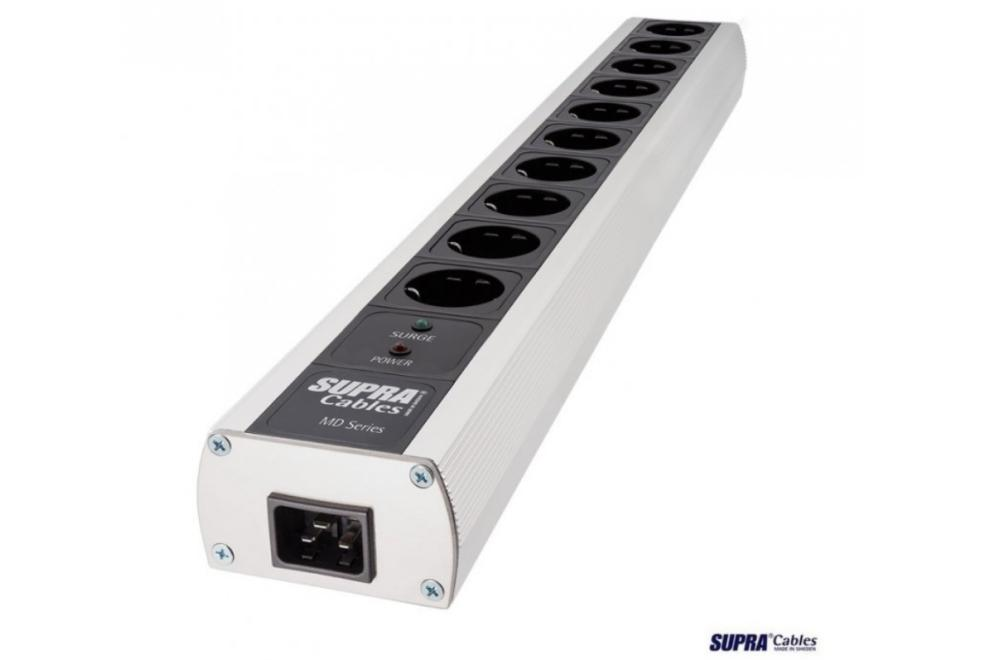 SUPRA MD10-EU/SP Mk3.1 - 10 zásuvková prepäťová ochrana s NIF filtrami